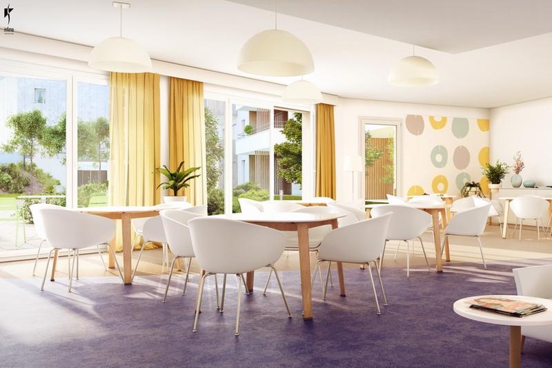 appartement t2 en r sidence senior mordelles rennes id al investissement. Black Bedroom Furniture Sets. Home Design Ideas