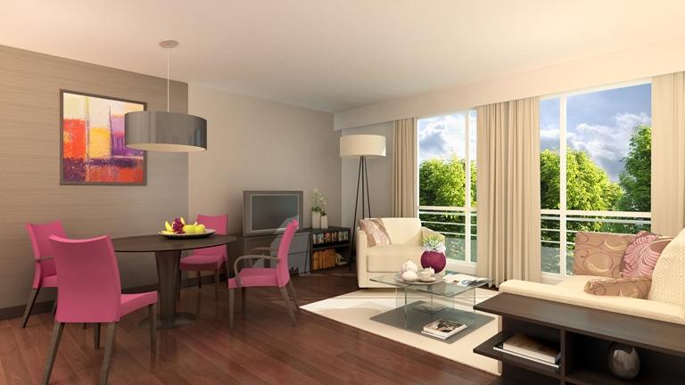 Location d 39 un studio s vres au sein d 39 une r sidence services pour - Location appartement senior ...