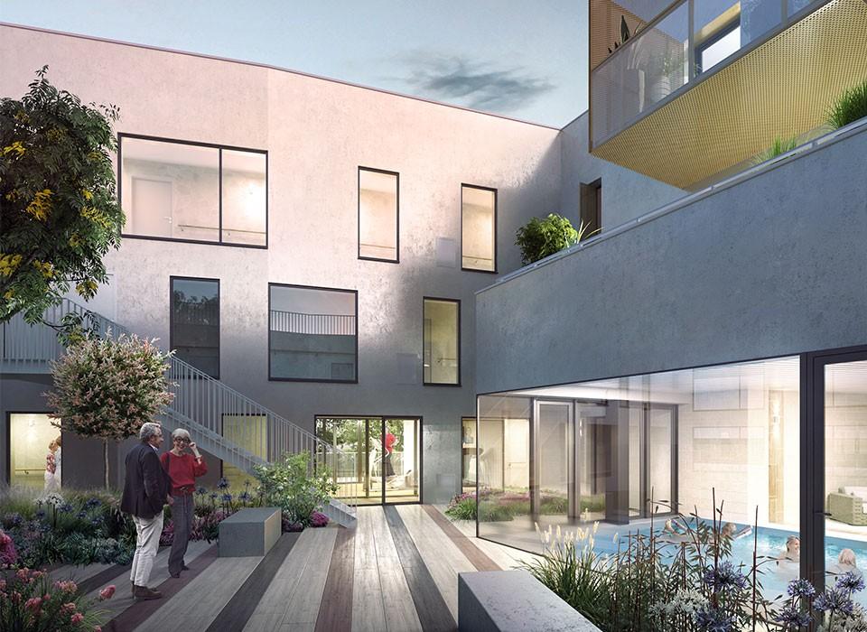 dernier lot pour investir rennes chantepie dans une r sidence senior appartement t3. Black Bedroom Furniture Sets. Home Design Ideas
